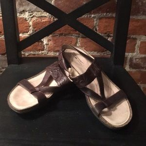 Rockport Leather band Sandals